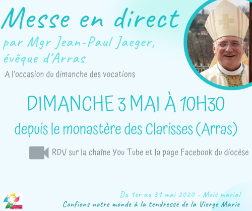 Mois marial - Messe du 3 mai 2020
