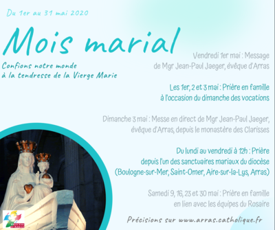 Mois marial 2020 - programme