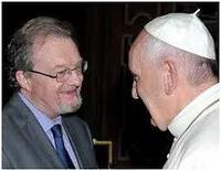 CCannuyer avec le Pape Francois
