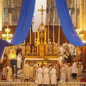 Bénédiction Abbatiale à Saint-Omer