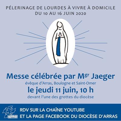 Pele de Lourdes a domicile