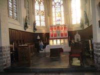 choeur de l 'église d'Houchin