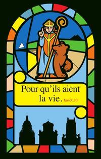 Vitrail saint Vaast couleur