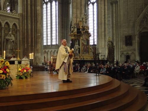 Messe action de grace Mgr Leborgne Amiens 9
