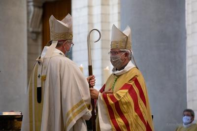 Messe installation Mgr Leborgne 2020  9