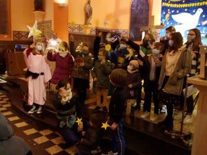 Enfants et jeunes a Brebieres Noel 2020 NDVS