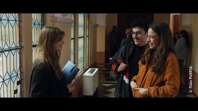 Court métrage Sans titre - Scène à la Maison Diocésaine d'Arras © Théo Puerta