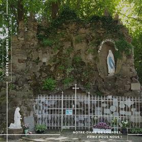 Notre-Dame de Lourdes - Grotte d'Humières (62)