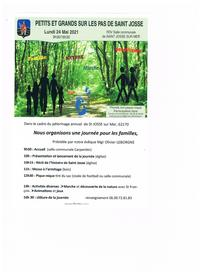 Tract journee famille Saint Josse 2021