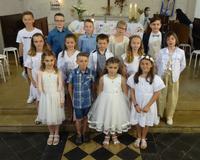 premières communions à Bouvigny 13/06/21