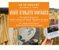 Vente d-objets vintages - ACV St Theodore- Lens