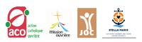 Journee Mondiale du Travail Decent 2021 logos