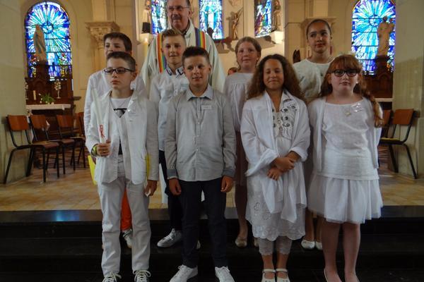 27 mai 2017 Entree en eucharistie + baptemes de En