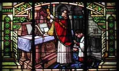 Eucharistie, la grande Elevation