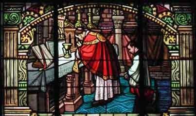 Eucharistie, le communion des prêtres