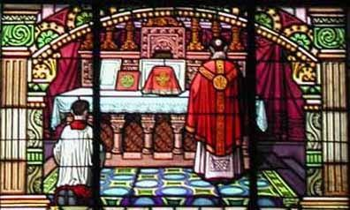 Eucharistie, L'introït (début de la messe)