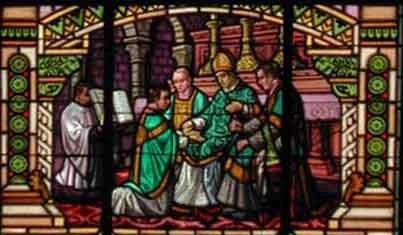Ordination consécration des mains