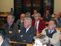 Doyens et délégués aux affaires temporelles attentifs et émerveillés