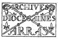 logo archives diocesaines arras