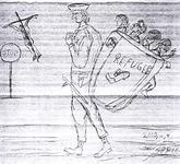 La croix du côté de ceux qui disent stop au rejet à la mer