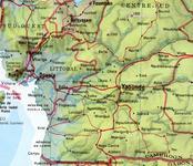 A 100 km au Nord de Yaoundé, capitale du Cameroun