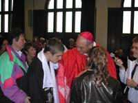 signation avec le saint Chrême