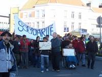 Calais, 4ème anniversaire de la fermeture de Sangatte