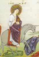 Jésus sur un ânon