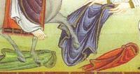 Entrée de Jésus à Jérusalem. Egbert, détail