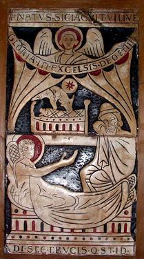 Nativité Bas-relief Saint-Omer