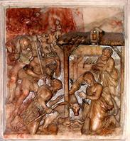 Bas-relief, Saint-Omer