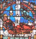 Vitrail de Chartres, vers 1150