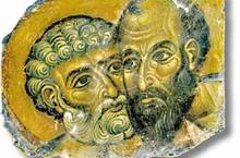 Pierre et Paul souvent opposés dans la pastoreale mlissionnaire sont fêtés ensemble le 29 juin