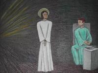 Jesus devant Pilate