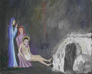 Jésus mis au tombeau