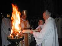 Bénédiction du feu nouveau