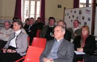 Les participants; <Mgr Jaeger
