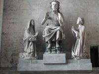 sculpture du 13ème siècle, cathédrale de Saint-Omer