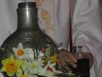 consécration lors de la messe chrismale