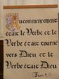 Phrases calligraphiées