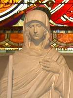 Statue de la Vierge des Ardents