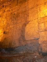 La base du mur élevé par Hérode pour l'esplanade du Temple est accessible par souterrain.