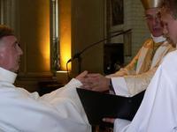 Envers l'évêque et ses successeurs