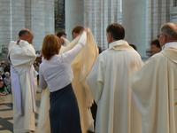 Remise du vêtement liturgique