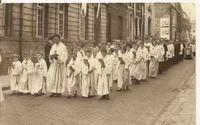 1960 Arras - Enfants de choeur et séminaristes