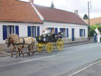 devant la maison de Léon Herbaux