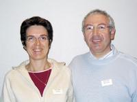 Bertrand et Valérie Savary