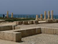 Ruines du palais romain 1er siècle Pierre, Paul sont passé par là