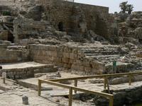 Césarée - Vestige de la jetée embarcadère du temps de Paul