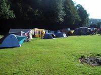 Campement à l'abbaye